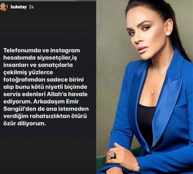 Eşinden yeni boşanan Buket Aydın'ın Emir Sarıgül'le fotoğrafı sosyal medyayı salladı