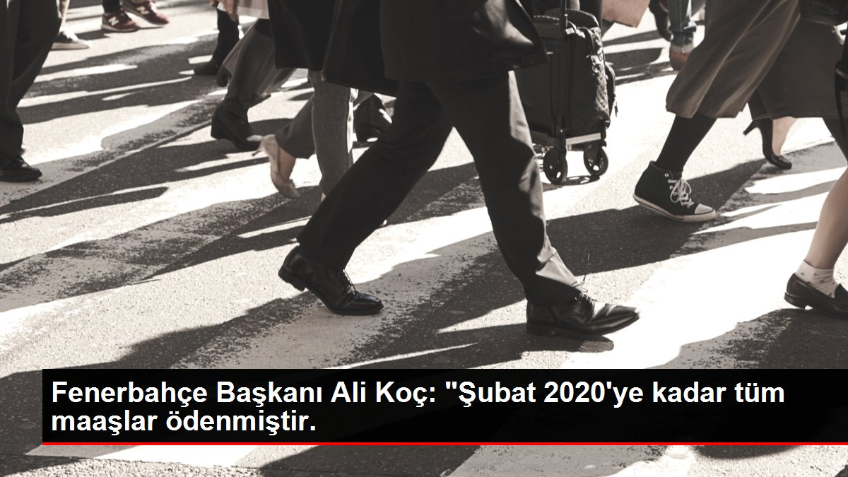 Fenerbahçe Başkanı Ali Koç: