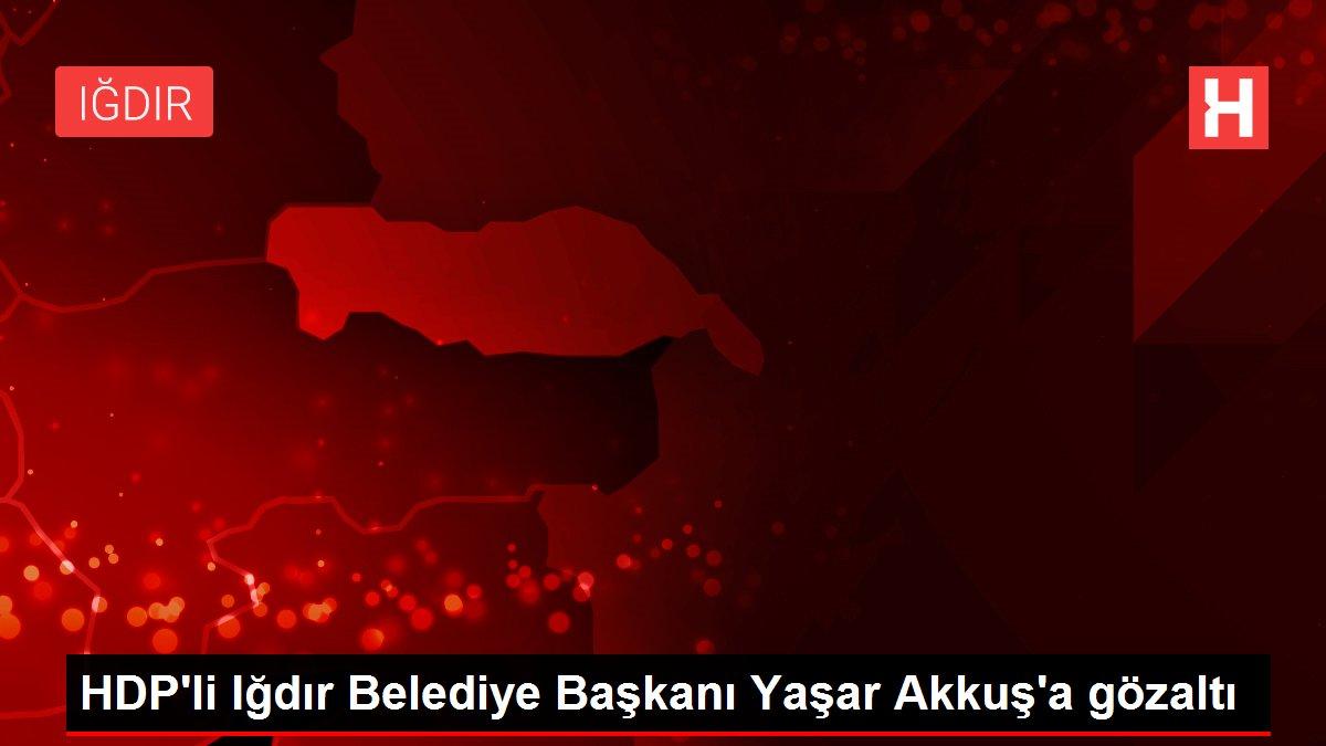 HDP'li Iğdır Belediye Başkanı Yaşar Akkuş'a gözaltı