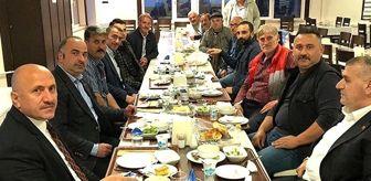 Çayeli: MHP Çayeli Belediye Başkanı İsmail Hakkı Çiftçi, yasağa rağmen muhtarlarla iftarda buluştu