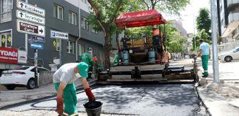 Alper Taşdelen: Çankaya'da kent merkezinde asfalt çalışmalarına başladı
