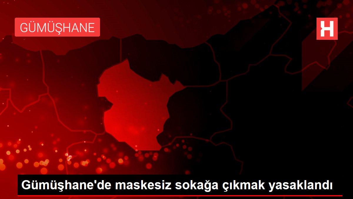 Gümüşhane'de maskesiz sokağa çıkmak yasaklandı