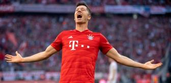 Bavyera: Bayern Münihli Robert Lewandowski, ligde 4 gol daha atarsa kendi rekorunu kıracak