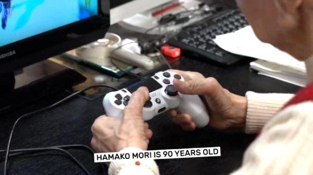 Dünyanın en yaşlı bilgisayar oyuncusu 90 yaşındaki Mori, Guinness Rekorlar Kitabı'na girdi