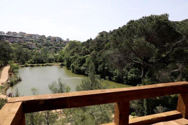 Ekrem İmamoğlu, Hacıosman'daki Atatürk Kent Ormanı'nın açılışını yaptı