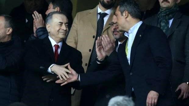 Fenerbahçe Başkanı Ali Koç, Mustafa Cengiz'i ziyaret etti!