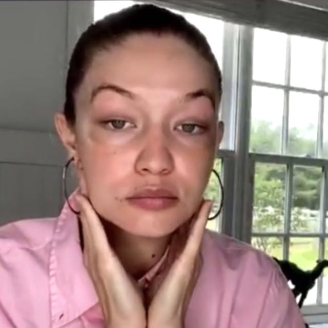 6 aylık hamile olan Gigi Hadid, estetik iddialarına yanıt verdi: Doğduğumdan beri bu yanaklara sahibim