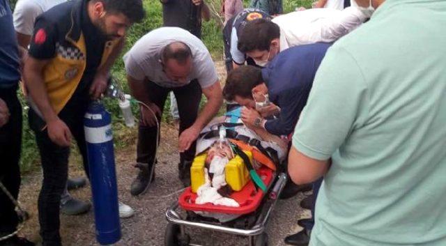 Fotoğraf çektirmek için çıktığı kayalıktan 150 metre yuvarlanan genç kadın, ağır yaralandı