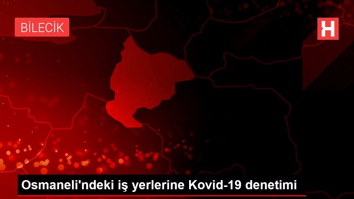 Osmaneli'ndeki iş yerlerine Kovid-19 denetimi