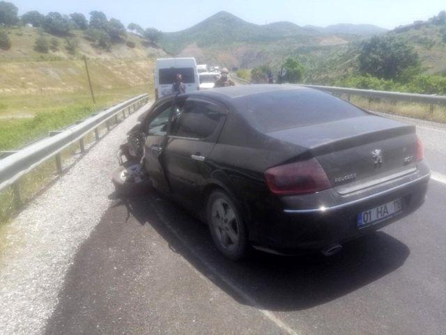 Siirt'te trafik kazası: 3 yaralı