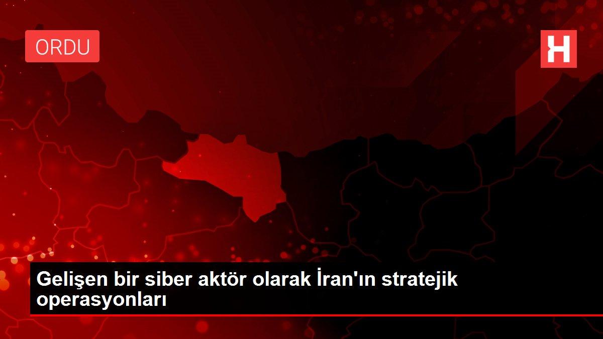 Gelişen bir siber aktör olarak İran'ın stratejik operasyonları