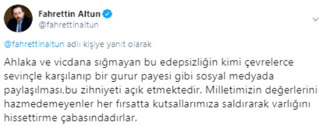 İletişim Başkanı Altun, 'camide müzik' skandalına tepki gösterdi: Kabul edilemez bir saldırı
