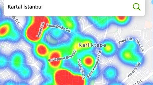 İstanbul'un korona haritası güncellendi! Bu bölgelerde oturanlar dikkat