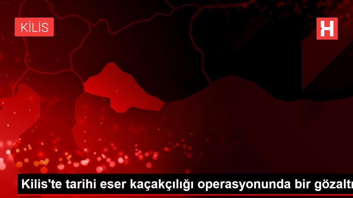 Kilis'te tarihi eser kaçakçılığı operasyonunda bir gözaltı