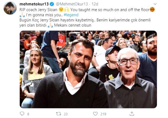Mehmet Okur'un eski koçu Utah Jazz efsanesi Jerry Sloan hayatını kaybetti