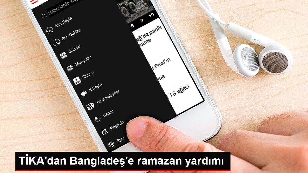 TİKA'dan Bangladeş'e ramazan yardımı