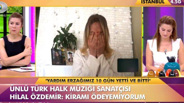 Ekonomik zorluk yaşayan Hilal Özdemir, canlı yayında gözyaşları içinde başından geçenleri anlattı