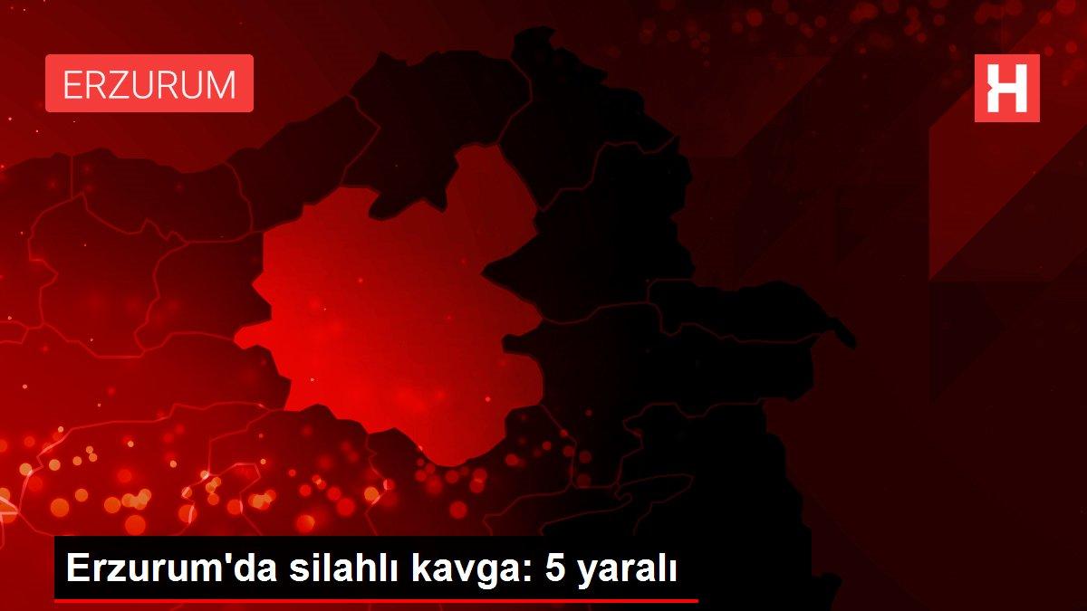 Erzurum'da silahlı kavga: 5 yaralı