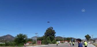 Ortaca: Helikopterle bayram denetimi (2)