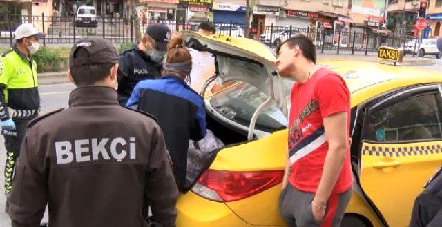 Yasağa rağmen müşteri alan taksiciden şaka gibi savunma: İnisiyatif kullandım