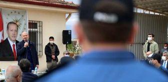 Suriye: Bakan Soylu, asker ve polislerin bayramını kutladı