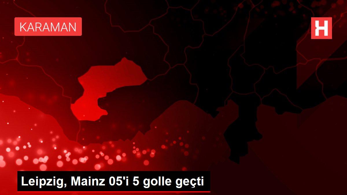 Leipzig, Mainz 05'i 5 golle geçti