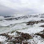 Mayısın son günlerinde Erzurum'da kar, Kars'ta dolu etkili oldu