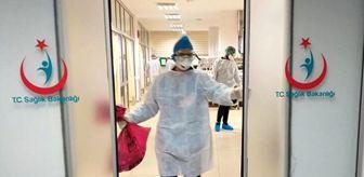 Saruhanlı Devlet Hastanesi'nin poliklinikleri doktor ve hemşirelerin koronavirüse yakalanması nedeniyle kapatıldı