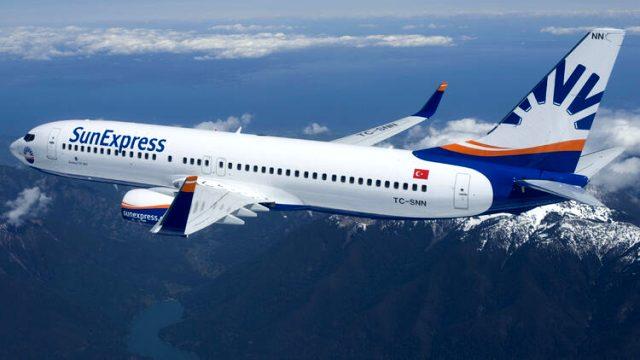 Türk havacılık şirketi SunExpress, 4 Haziran'da iç hat uçuşlarına başlıyor