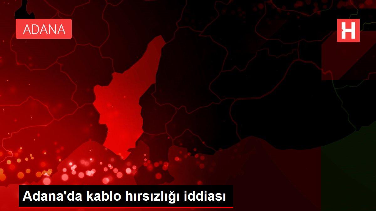 Adana'da kablo hırsızlığı iddiası
