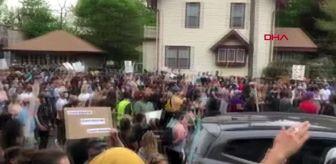 ABD'de binlerce kişi polis şiddetini protesto etti