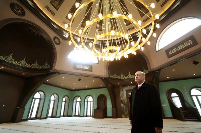 Erdoğan ve Bahçeli, Adnan Menderes'in yargılandığı Yassıada Mahkemesi'ni ziyaret etti