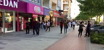 Terme: İç Anadolu'da sokağa çıkma kısıtlaması sonrası hareketlilik arttı