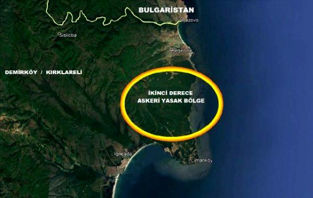Kırklareli'nin Karadeniz kıyısında 20 kilometrekarelik alan 'askeri yasak bölge' ilan edildi