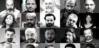 Erkan Kolçak Köstendil: Sanatçılar, tiyatro emekçileri için şiir okudu