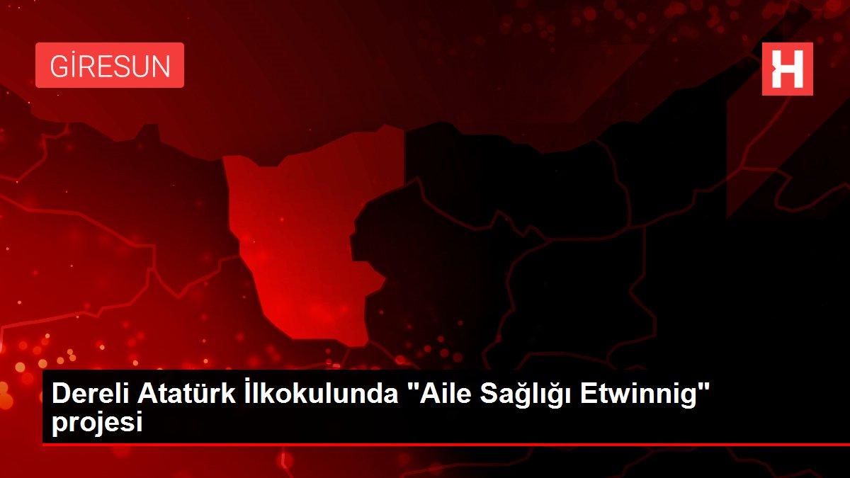 Dereli Atatürk İlkokulunda