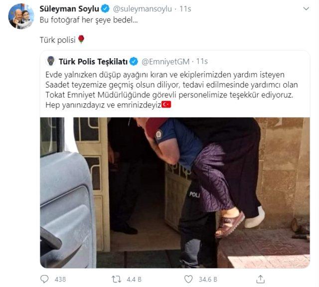 Dünya ABD'deki polis vahşetini konuşurken Türkiye'de çekilen görüntü yürekleri ısıttı
