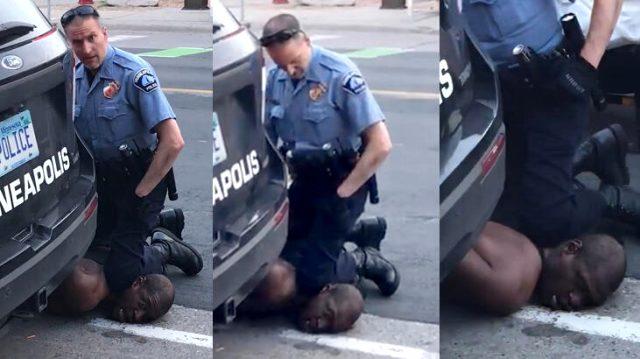 ABD'de siyahi adamı boğarak öldüren polisin dosyası kabarık çıktı