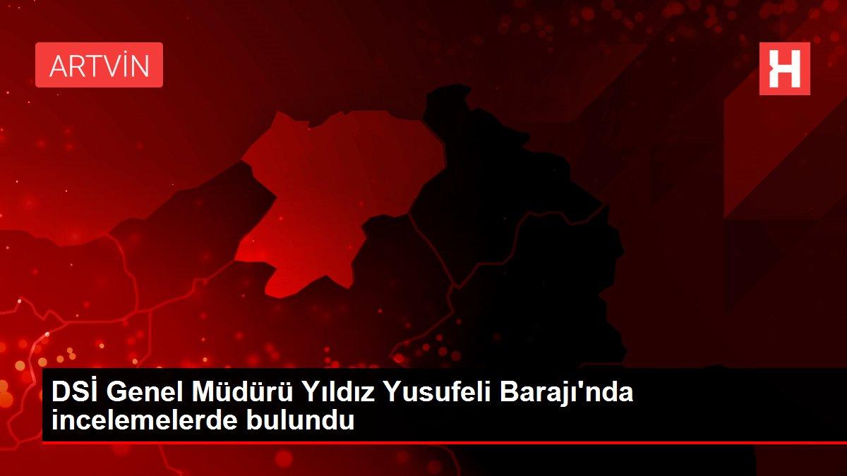 DSİ Genel Müdürü Yıldız Yusufeli Barajı'nda incelemelerde bulundu