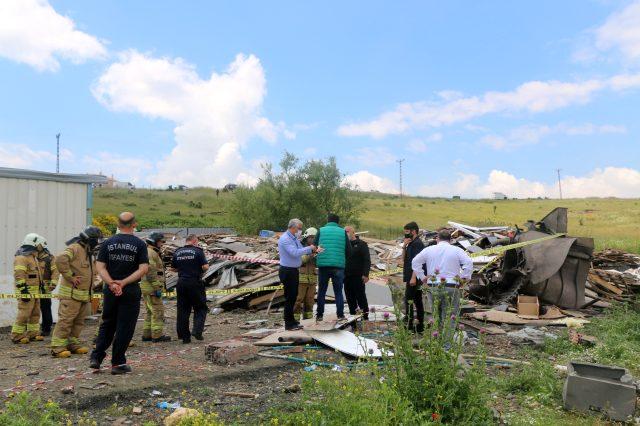 İstanbul'da fabrikada patlama: 2 işçi yaşamını yitirdi