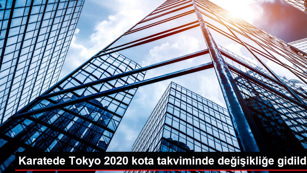 Karatede Tokyo 2020 kota takviminde değişikliğe gidildi
