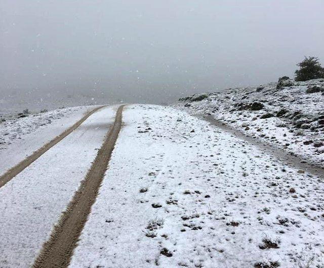 Mayıs ayının sonunda kar sürprizi