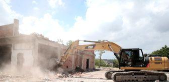 Üçpınar: Nilüfer'de riskli yapılar yıkılıyor