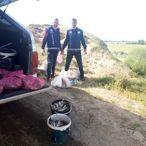 Van'da kaçak inci kefali avlayanlara 15 bin 100 lira ceza uygulandı