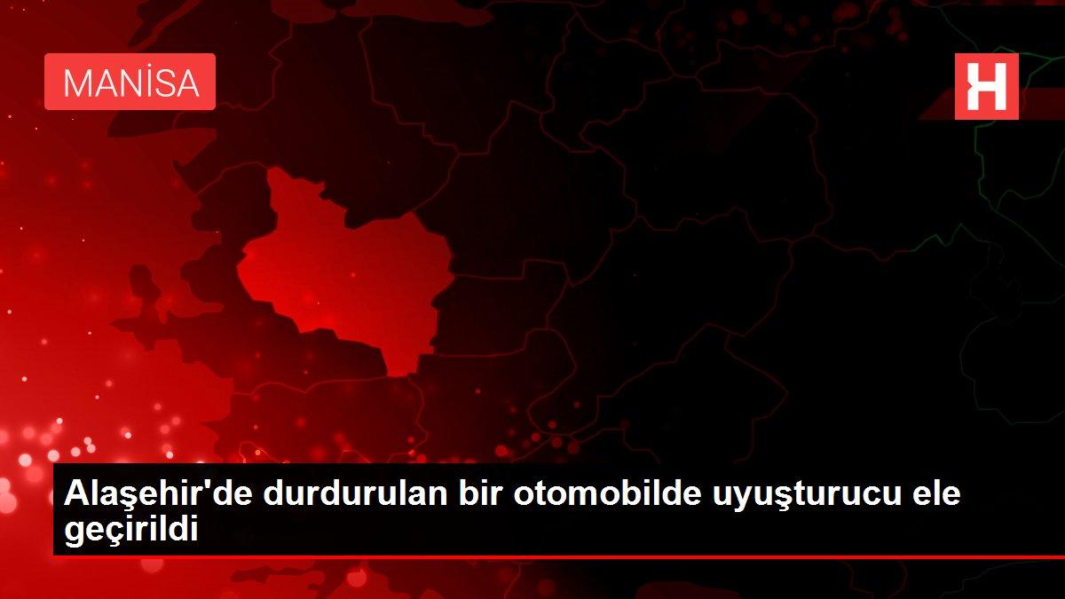 Alaşehir'de durdurulan bir otomobilde uyuşturucu ele geçirildi