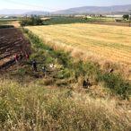 Kahramanmaraş'ta otomobil tarlaya devrildi: 2 ölü