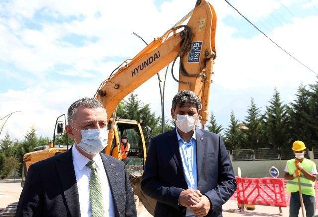 Köseköy'de alt yapı çalışmaları 15 Haziran'da tamamlanacak