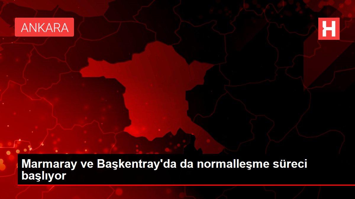 Marmaray ve Başkentray'da da normalleşme süreci başlıyor