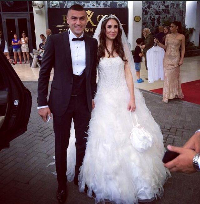 Burak Yılmaz, 2018'de boşandığı eşi İstemi Atilla ile yeniden evleniyor