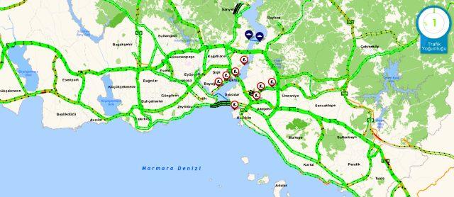 İstanbul'da yasak kalktıktan yarım saat sonra trafik yoğunluğu yüzde 26 oldu
